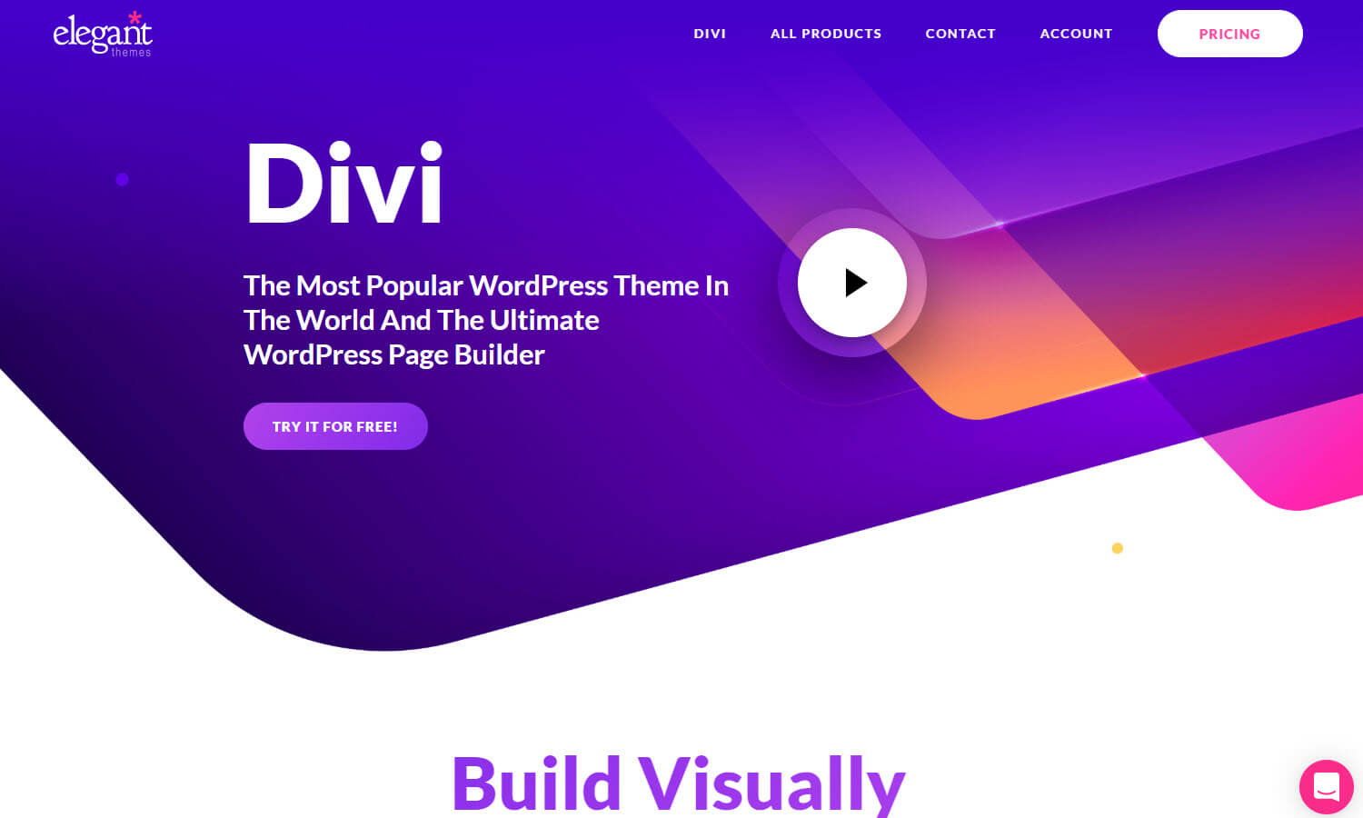 Divi Screenshot