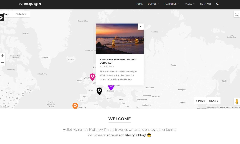 WPVoyager Screenshot