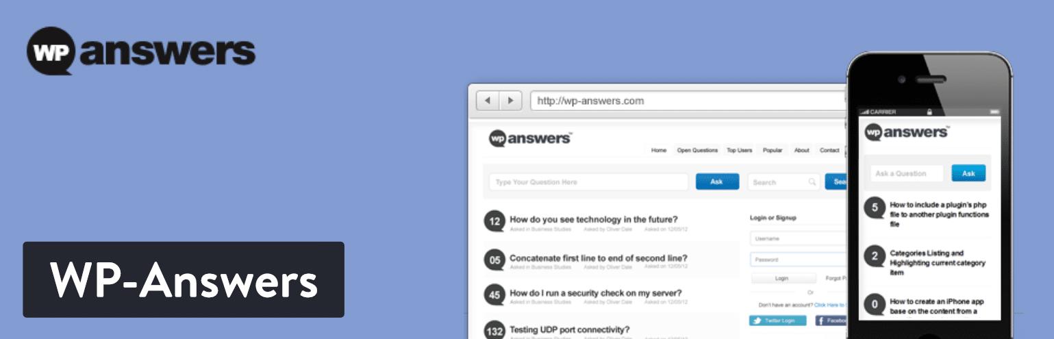 WP-Answers WordPress Plugin