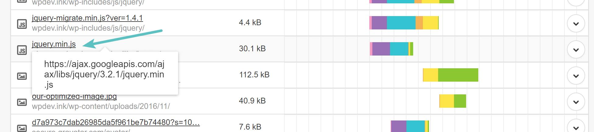 External service - JavaScript