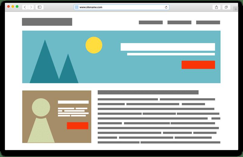 Leistungsstarke Websites
