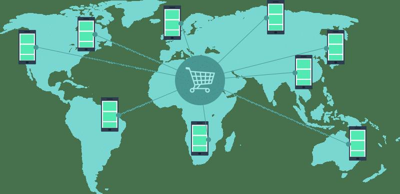 Mobiler Einkauf
