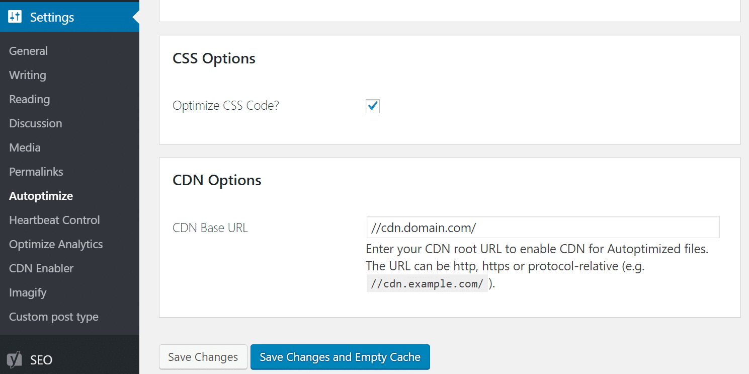 Kombiniere externe CSS-Dateien