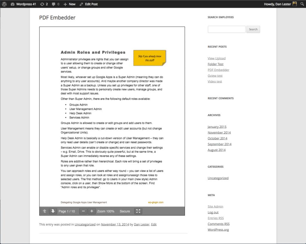 Wann man einen WordPress PDF Viewer benutzt