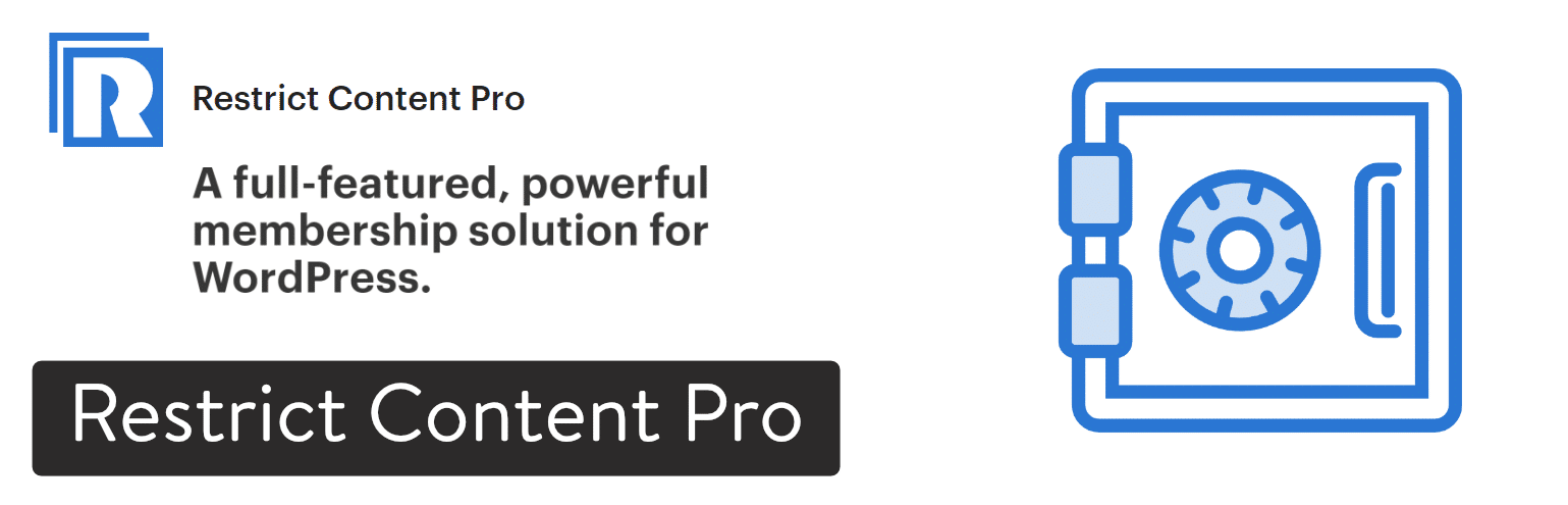 Restrict Content Pro WordPress-Plugin