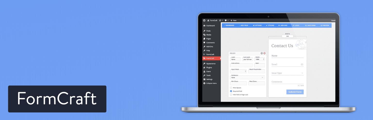 FormCraft WordPress Plugin für WordPress