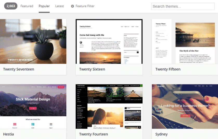 WordPress Theme-Repository