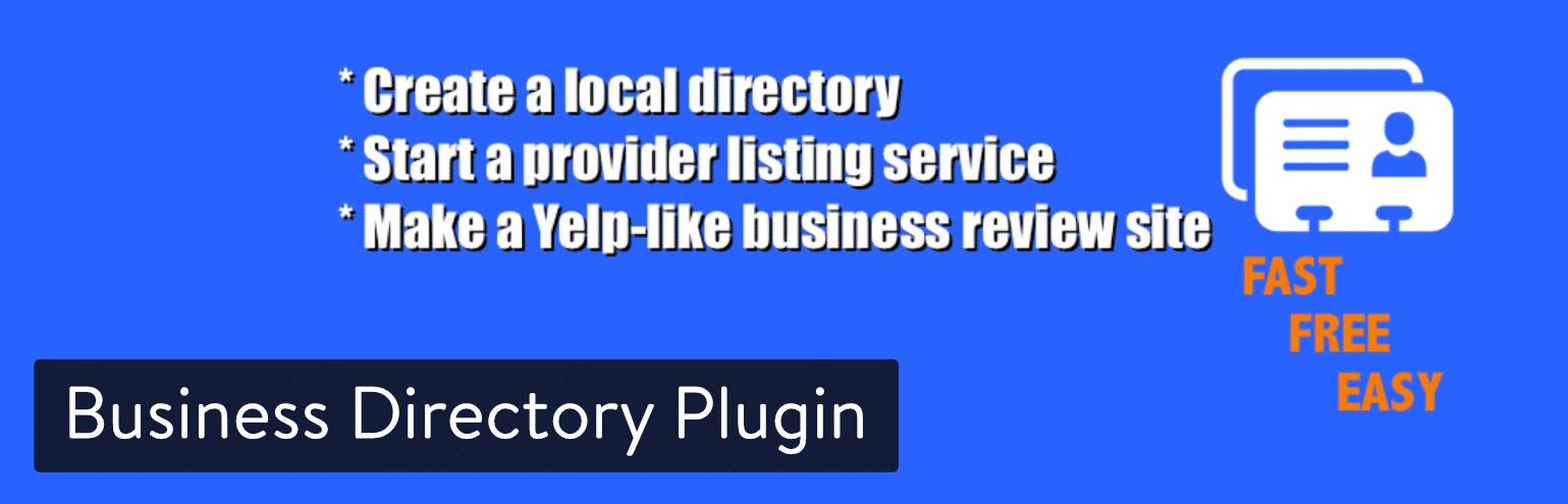 Business-Verzeichnis-Plugin für WordPress