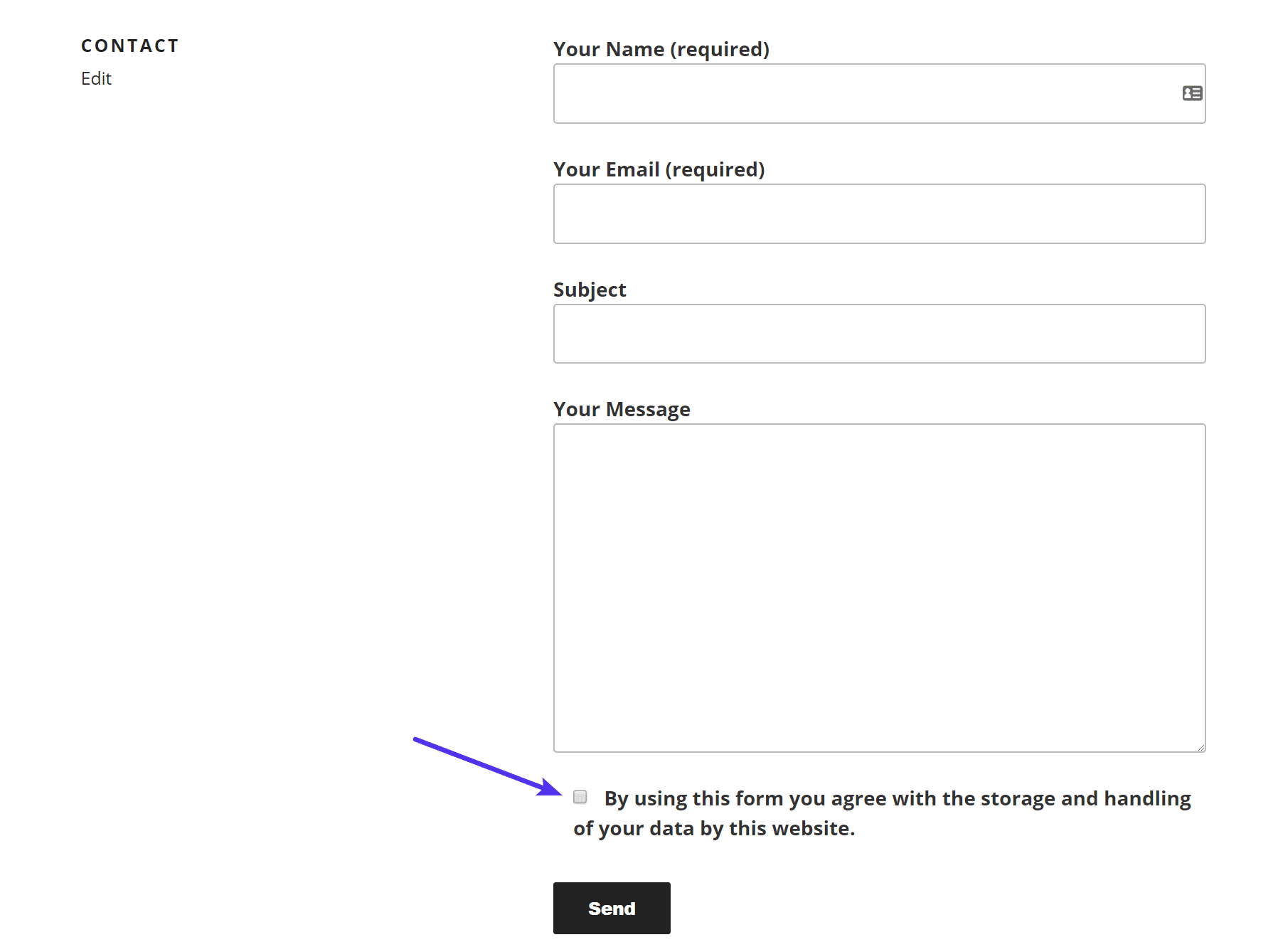 Contact Form 7 GDPR