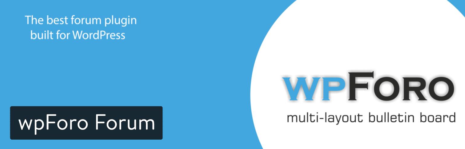 wpForo Forum plugin