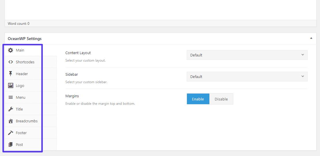 Meta Box für den Blogbeitrag