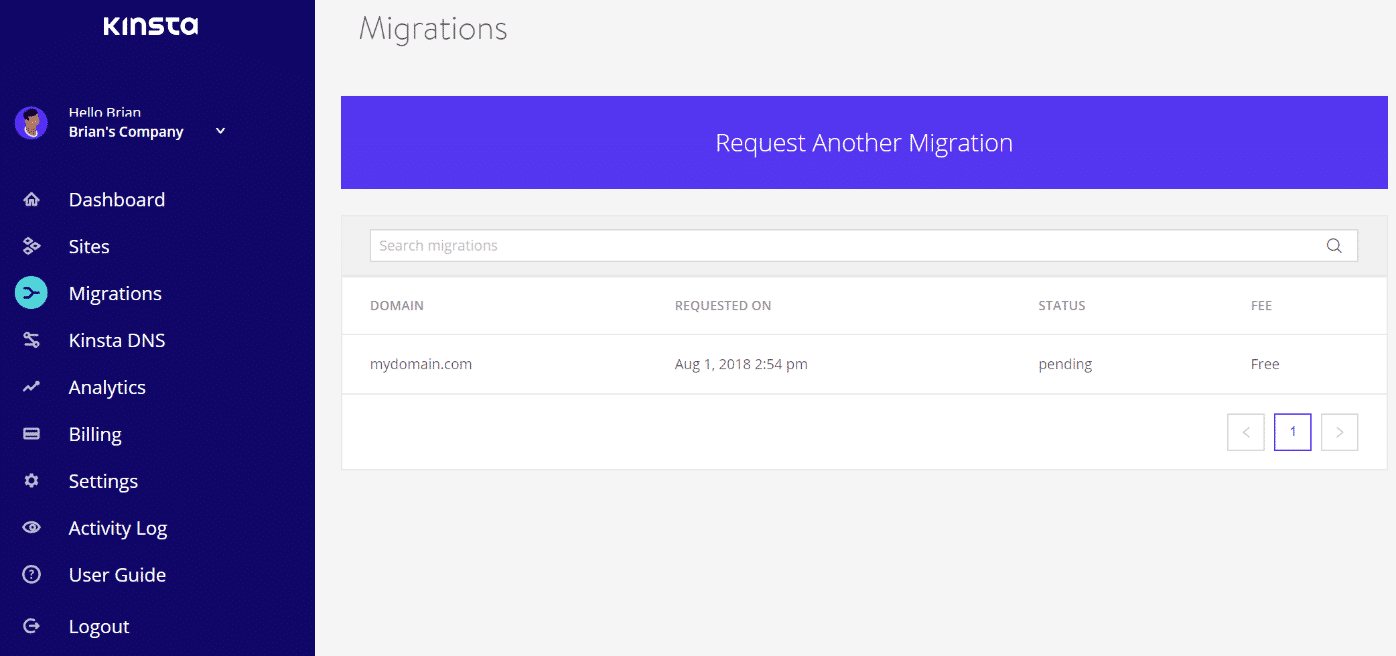 Ausstehende WordPress-Migrationen