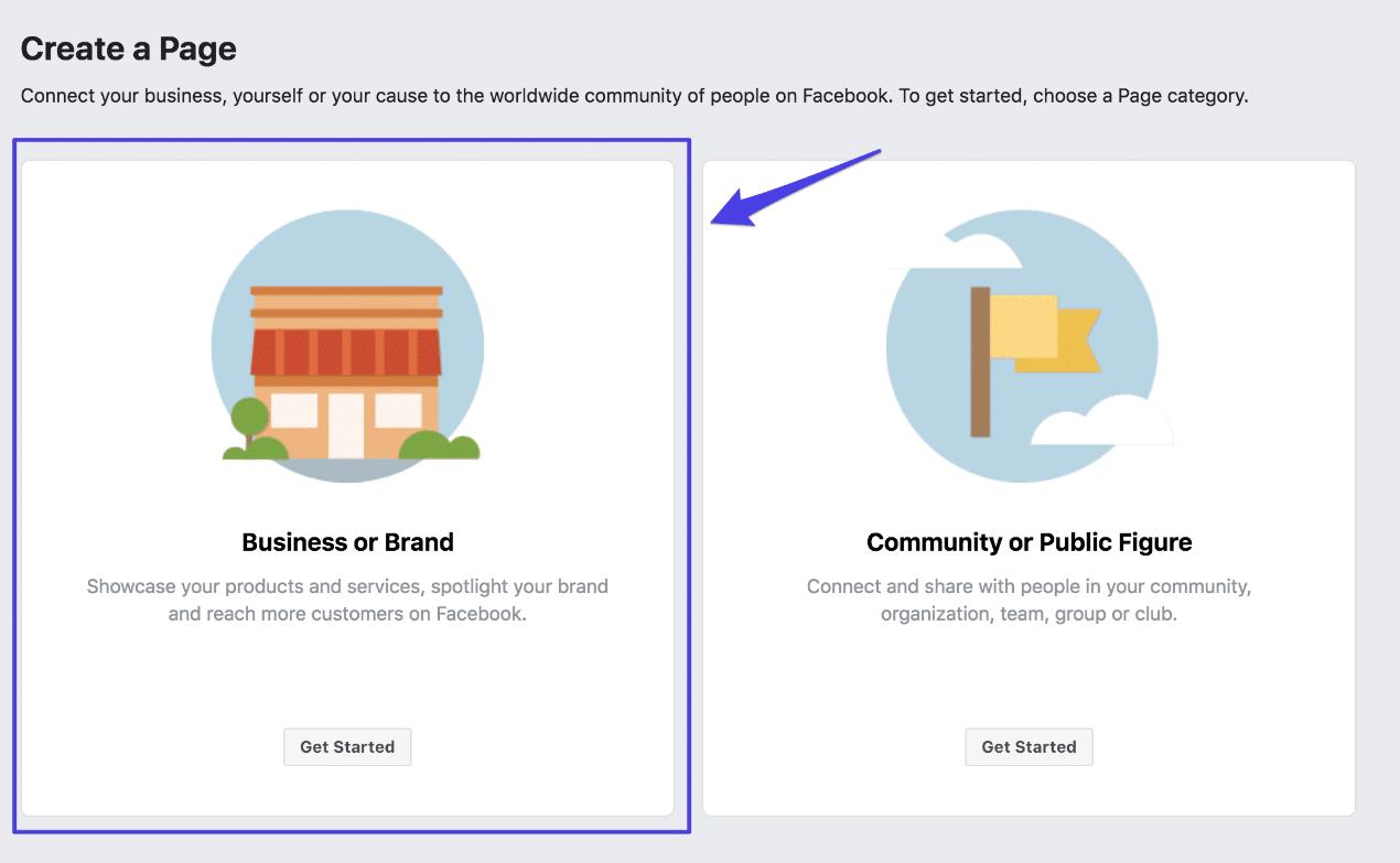 Eine Facebook Seite erstellen