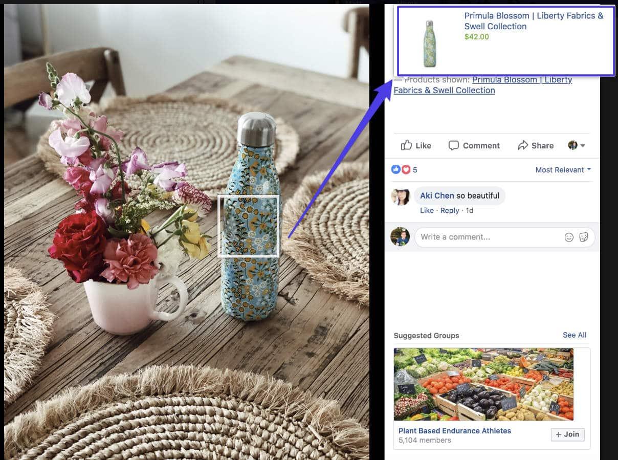 Facebook Produkt