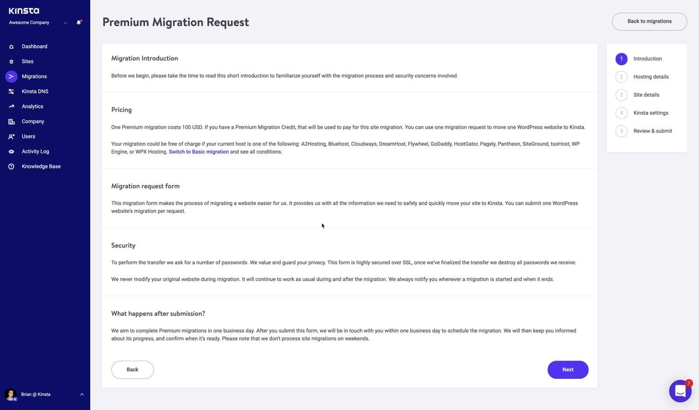Einführung in die Migration