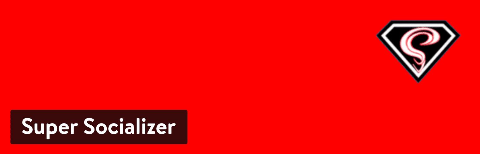 Super Socializer WordPress-Plugin