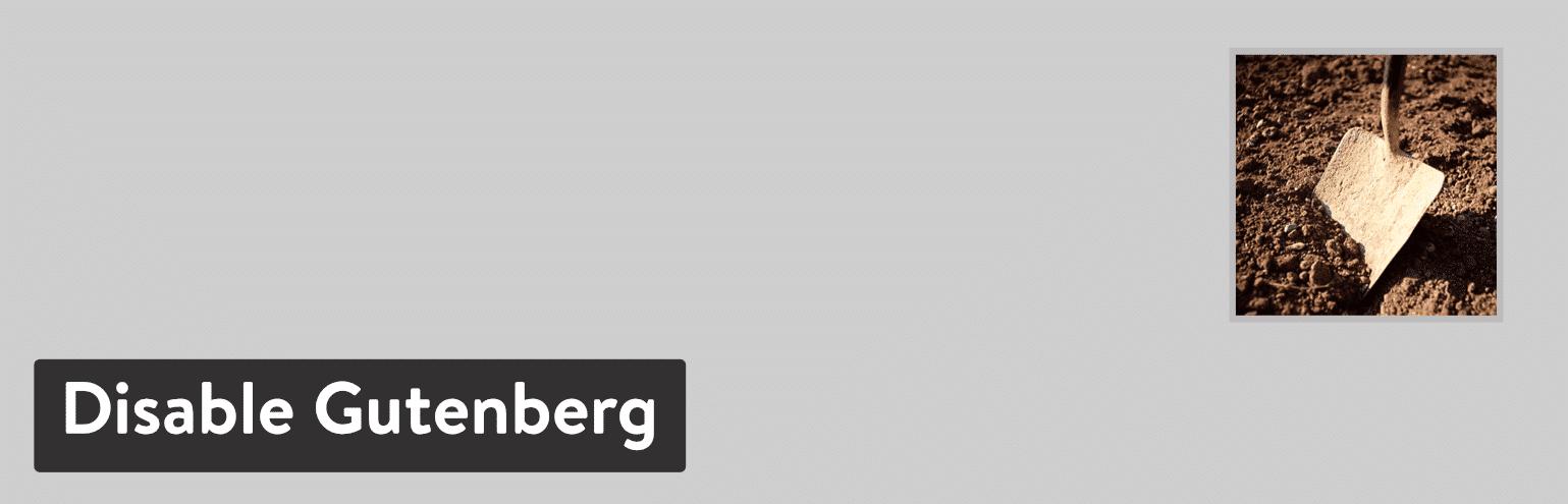 Disable Gutenberg WordPress Plugin