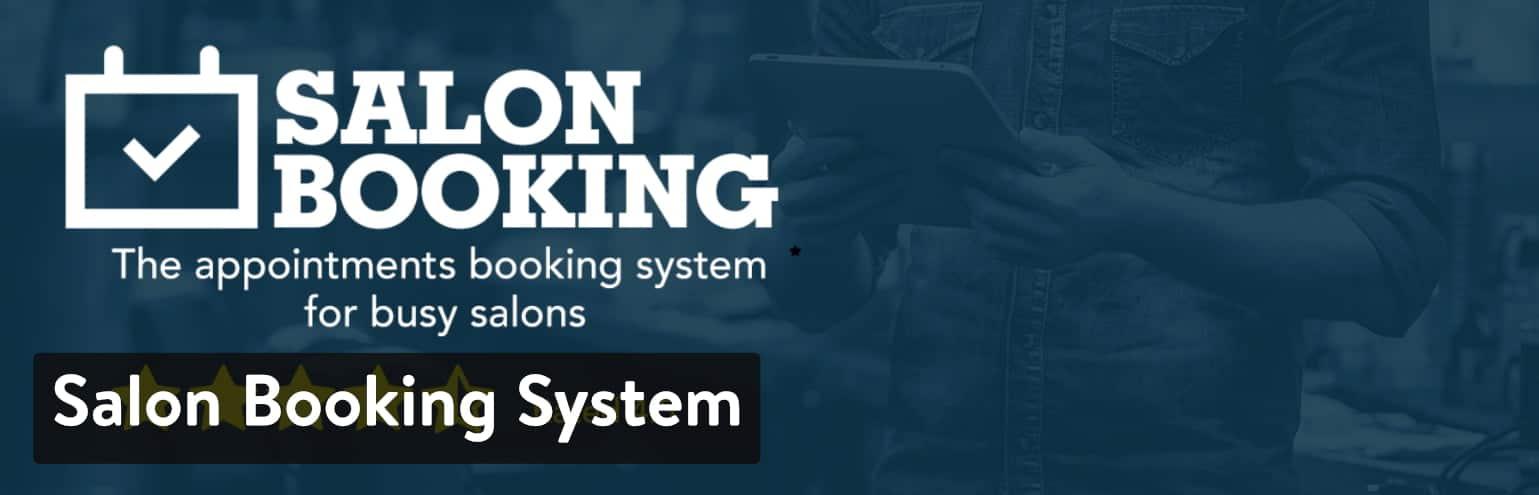 Salon Booking System Plugin