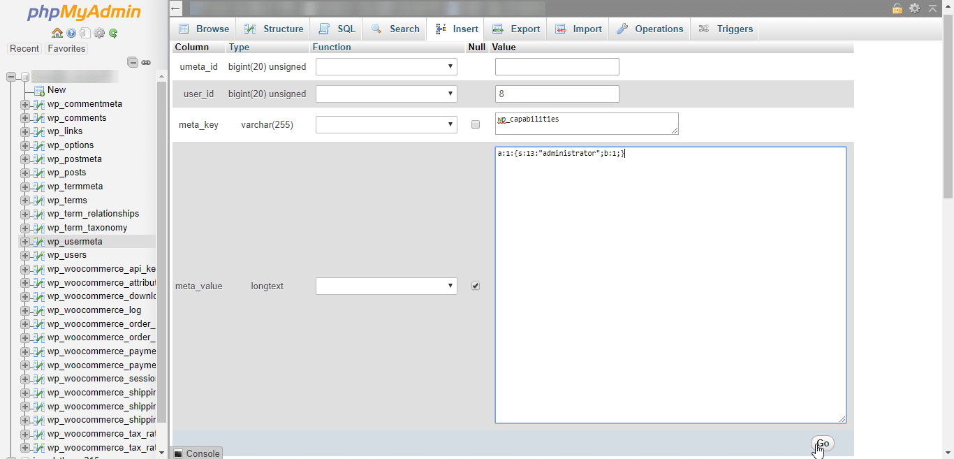 wp-usermeta Administrator Berechtigungen