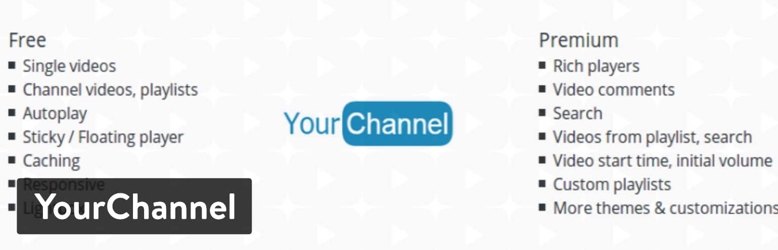 YourChannel WordPress plugin