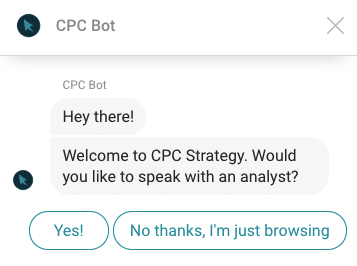 Chatbot Fragen