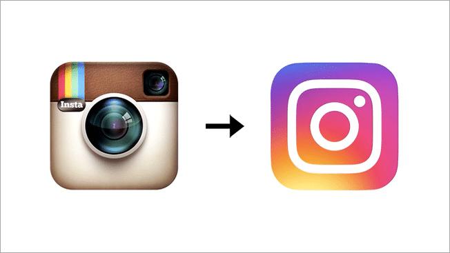 Instagram ändert Logo