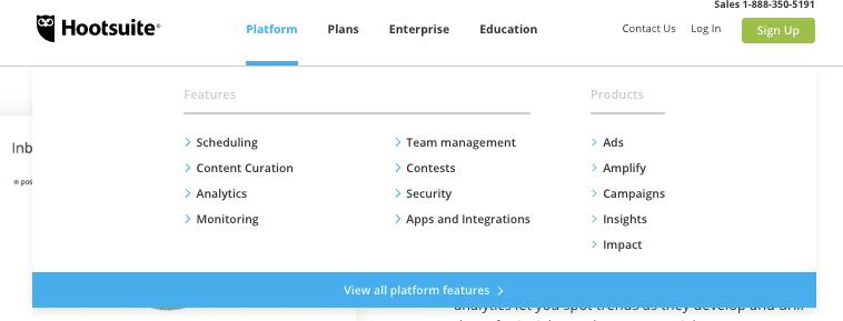 Plattform und Planbeispiel