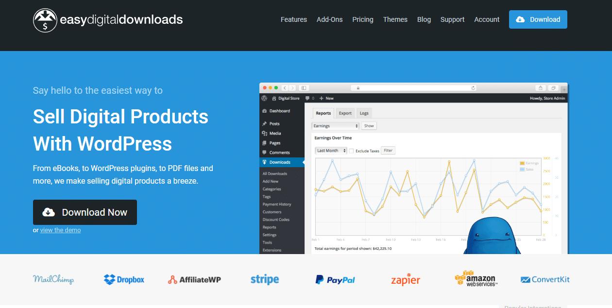 Website ideas: Offer Digital Downloads with Easy Digital Downloads