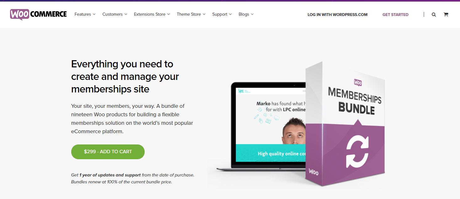 Website ideas: creating membership with WooMembers