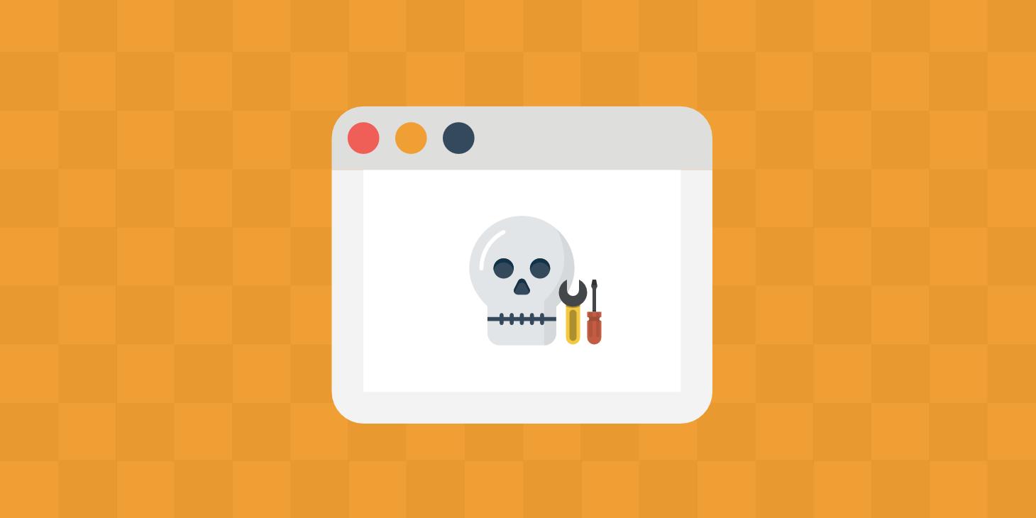 WordPress' White Screen of Death – Wie Du ihn schnell beseitigst