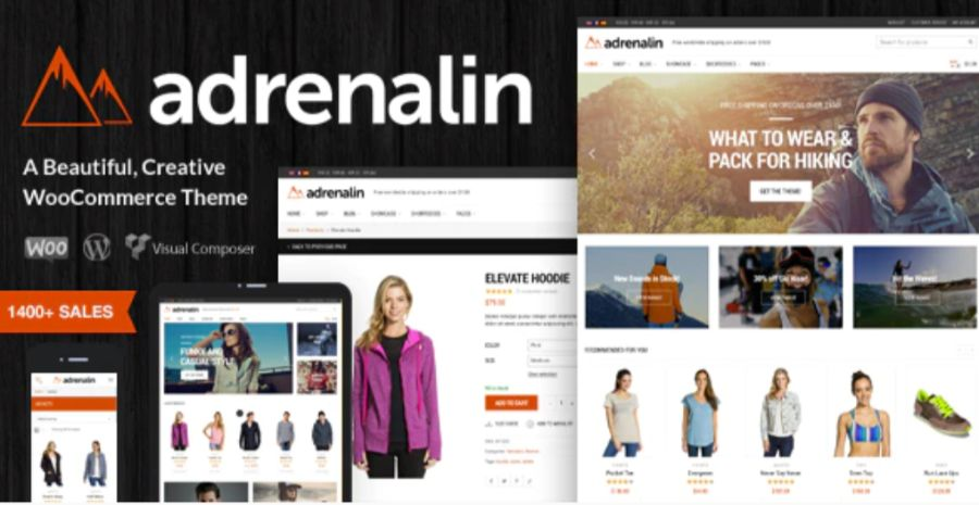 Adrenalin theme