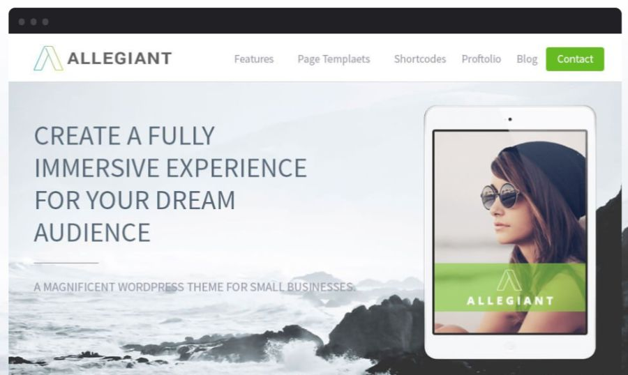 allegiant - best WooCommerce themes