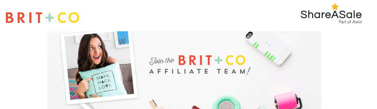 Brit + Co uses ShareASale
