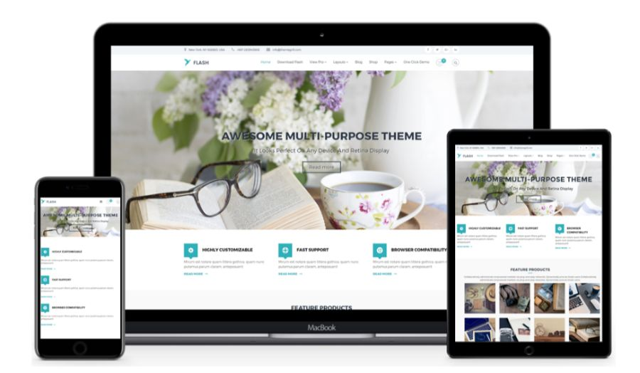 Flash WooCommerce theme