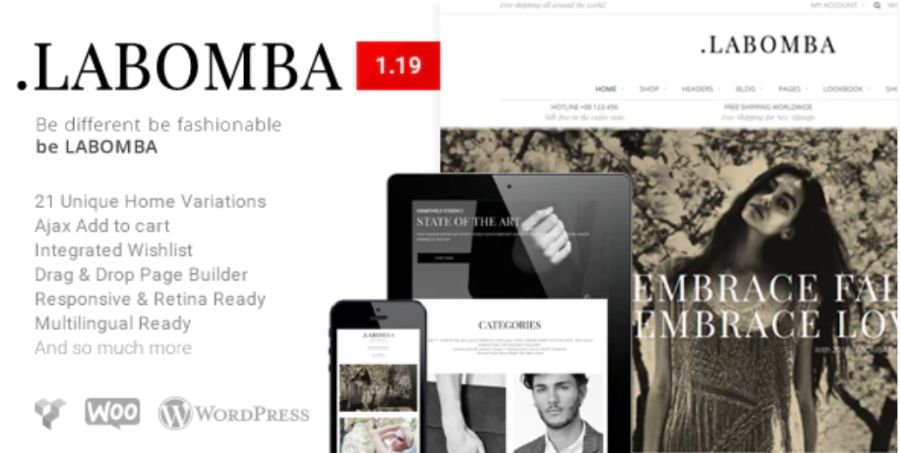 WooCommerce theme: Labomba