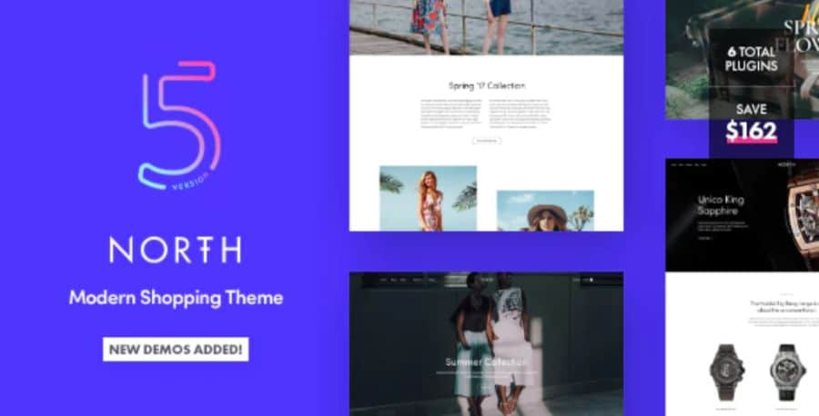 WooCommerce theme: North