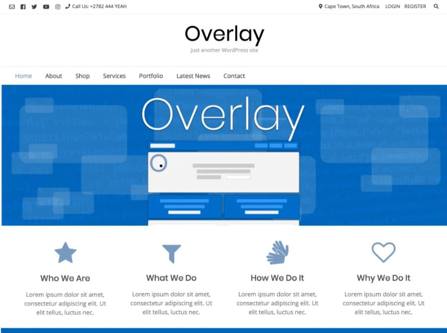 overlay - best WooCommerce themes