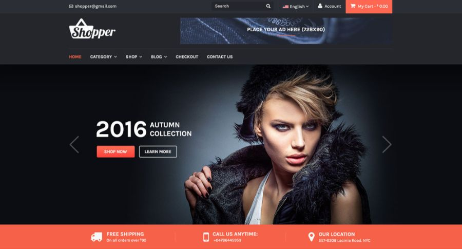 tyche - best WooCommerce themes