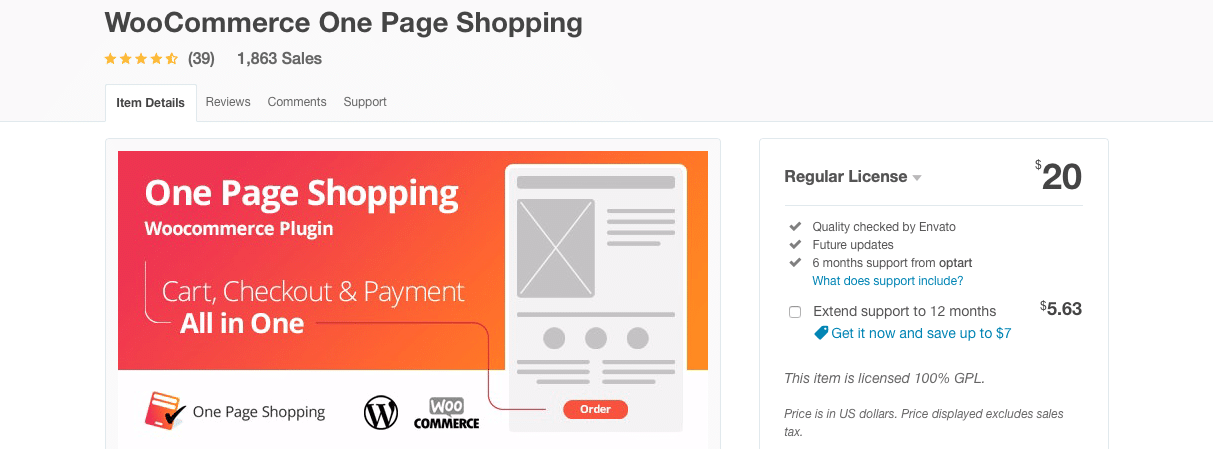 woocommerce one page