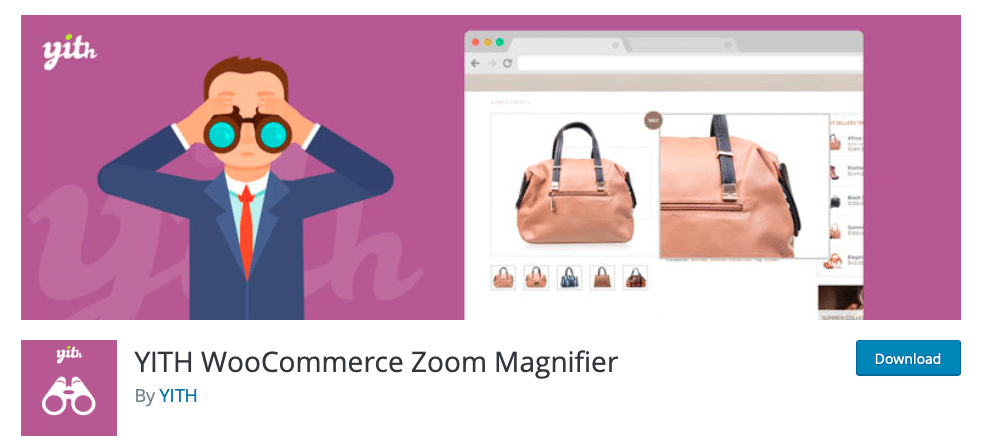 yith-woocommerce zoom maginifer