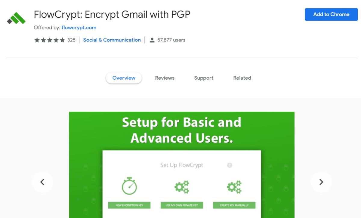 FlowCrypt Gmail-Erweiterung