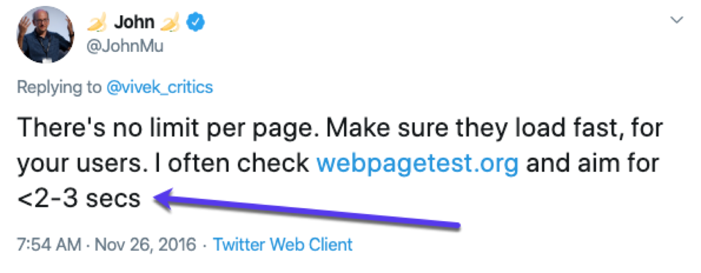 John Müllers (von Google) Ratschlag für das schnelle Laden von Seiten