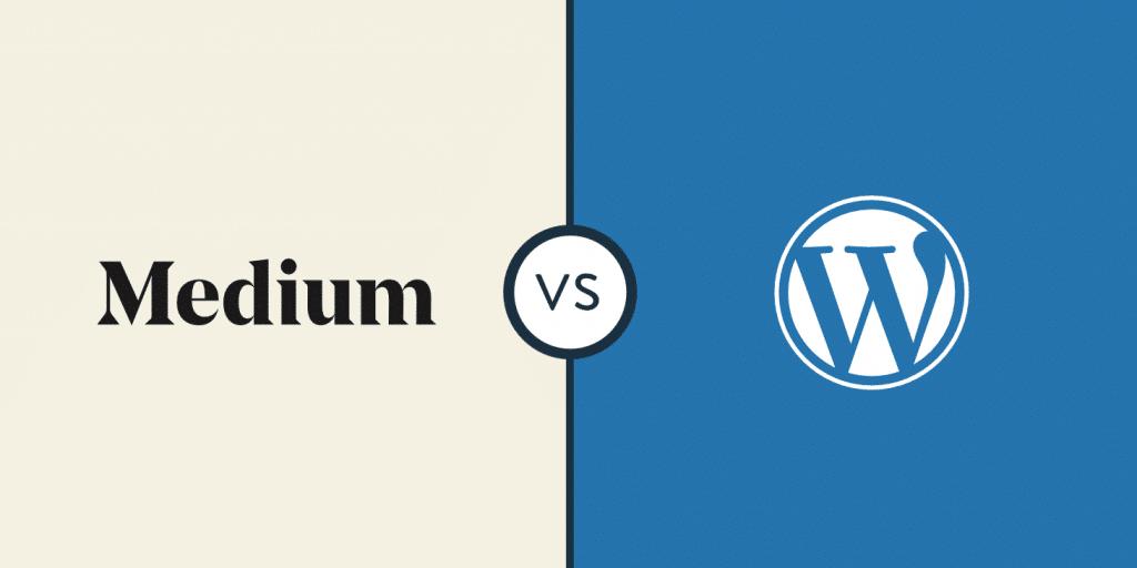 Medium vs. WordPress: Wo sollte man einen Blog einrichten?