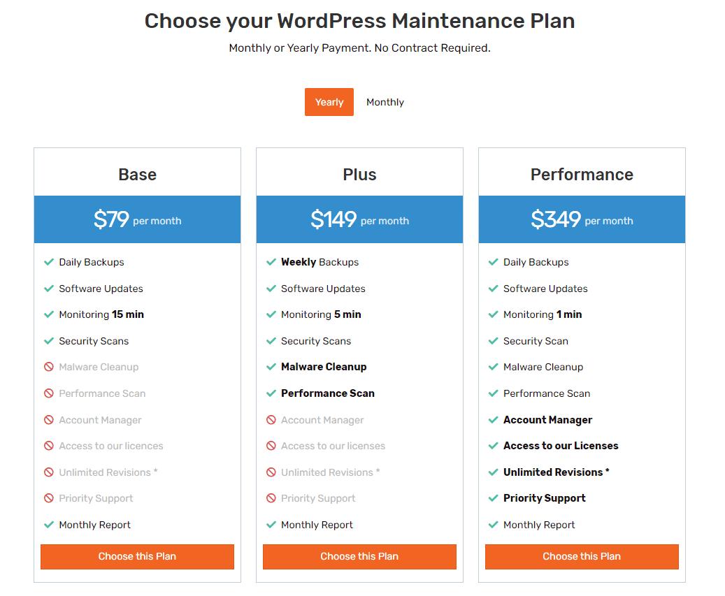 SatelliteWP Angeboten