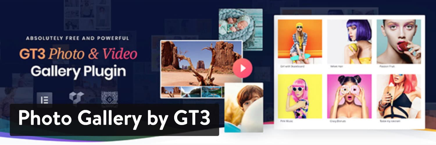Photo Gallery von GT3 WordPress Plugin
