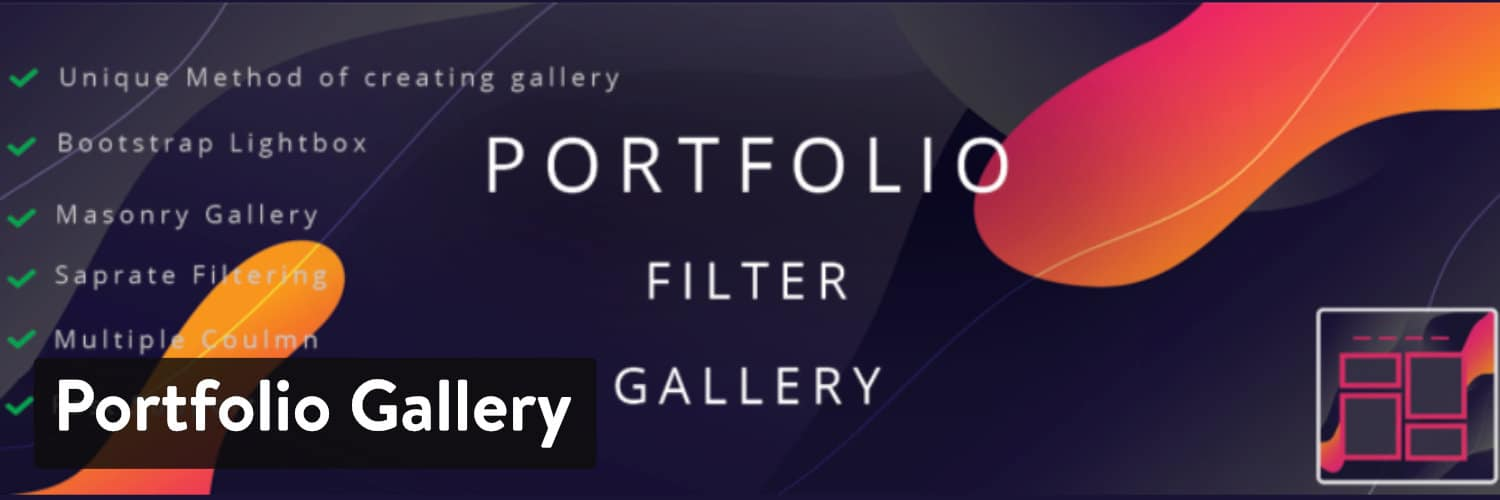 Portfolio Gallery WordPress Plugin