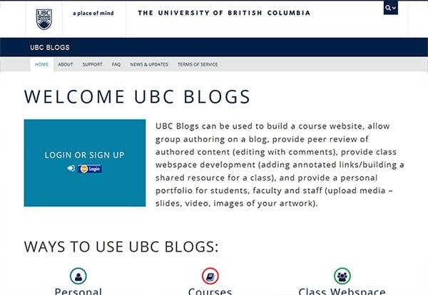 Universität von British Columbia