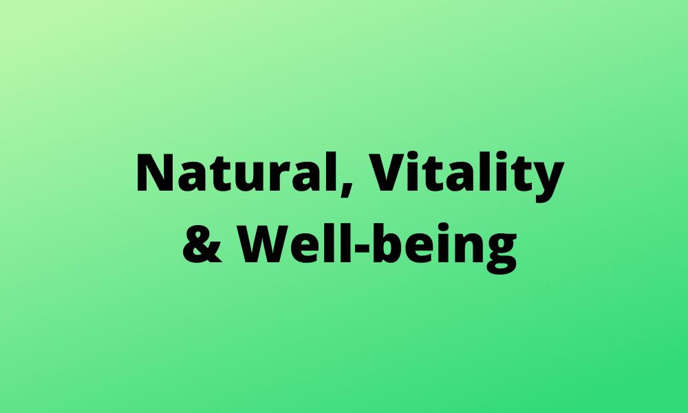 Grün vermittelt ein Gefühl von Vitalität