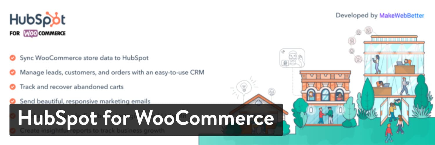 HubSpot for WooCommerce WordPress plugin