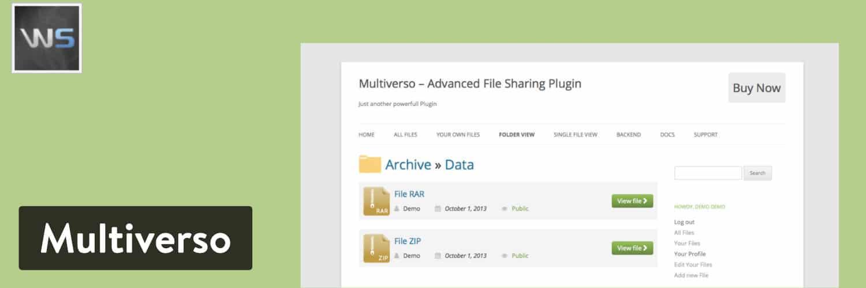 Multiverso WordPress-Plugin